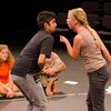 """""""Shakespeare and Autism"""" presentation by Anooj Bhandari and Genevieve Simon during the Anne Frank Project at Buffalo State."""
