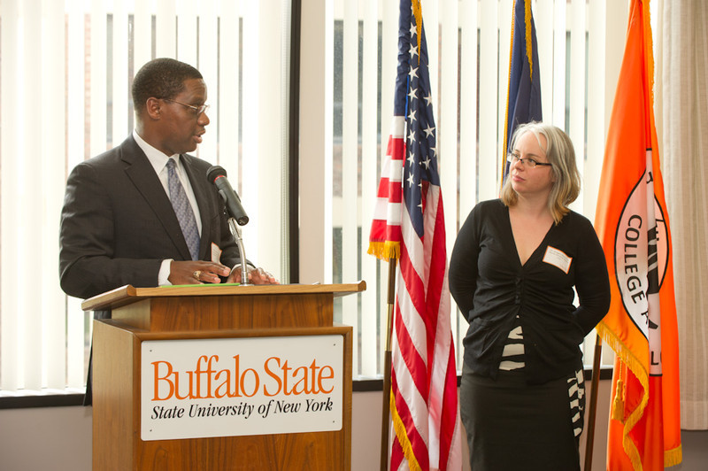Diversity Awards ceremony in Butler Library.