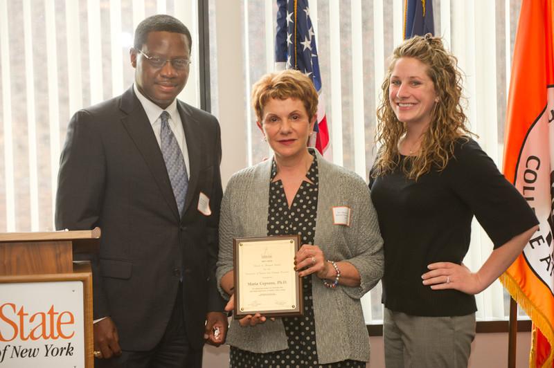 Diversity Awards ceremony in Butler Library.