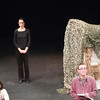 "anne frank project ""Dear me"" theater performance."