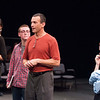 """anne frank project """"Dear me"""" theater performance."""
