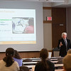 Professor Chris Shively giving Emerging Scholar Lecture at SUNY Buffalo State.