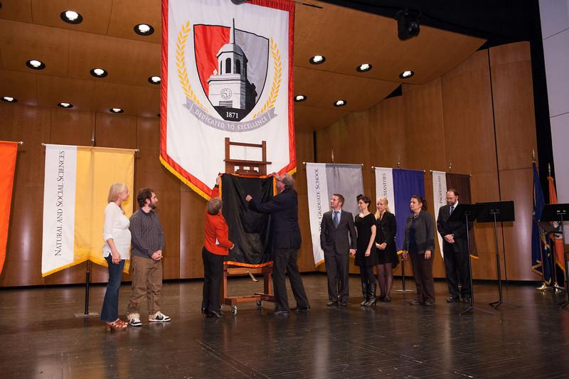 Celebration of Life ceremony for President Aaron Podolefsky.