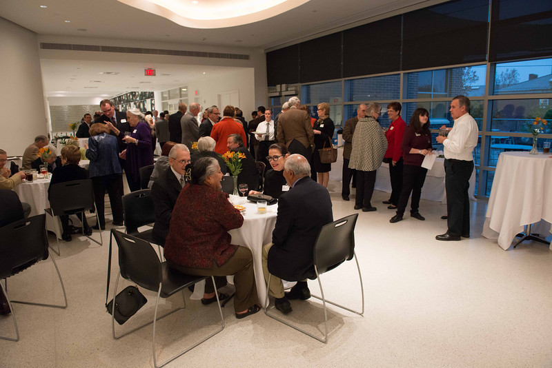 President's Circle reception at Burchfield-Penney Art Center.