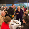 President's Circle reception at Burchfield-Penney Art Center.