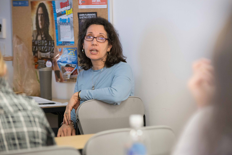 Professor Tina Colaizzo-Anas' Dietetics and Nutrition class.