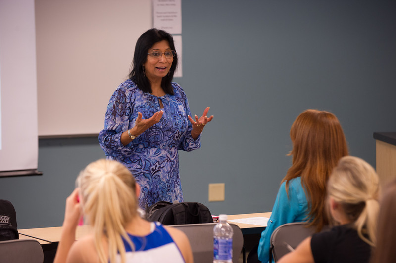 Professor Tejaswini Rao's Dietetics and Nutrition class.