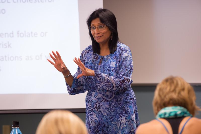 Professor Tejaswini Rao's Dietetics and Nutrition class.