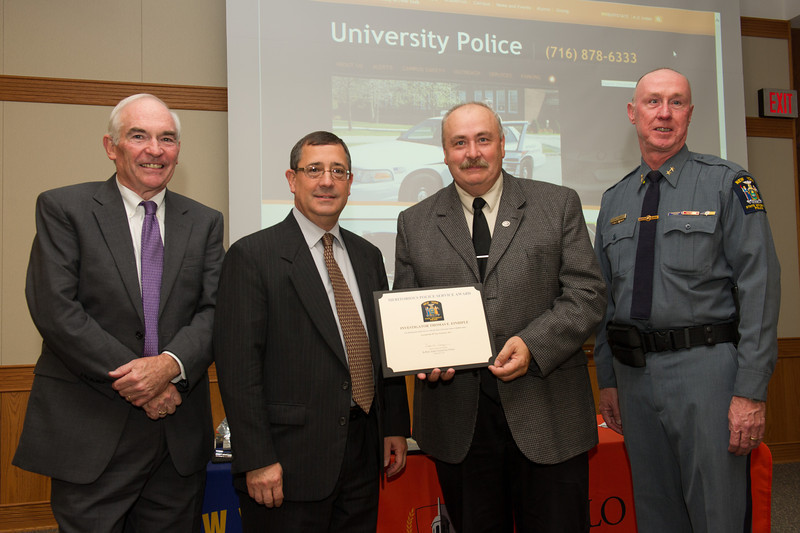 University Police awards ceremony.