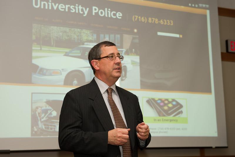 University Police awards ceremony.