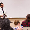 Dr. Barish Ali's English class at SUNY Buffalo State.