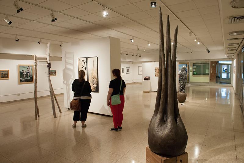 Fine Arts faculty show at SUNY Buffalo State.