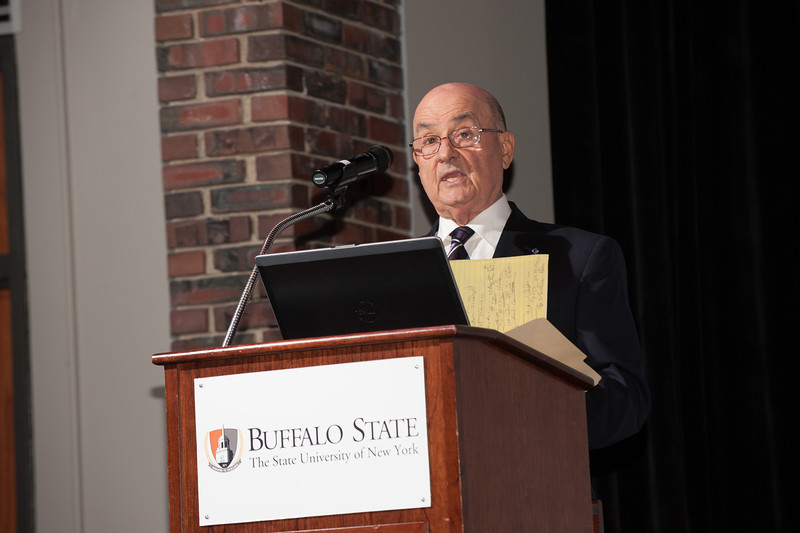 Fulbright seminar at SUNY Buffalo State.