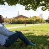 Fall campus scenics at SUNY Buffalo State.