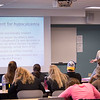 Professor Donna Hayes' Dietetics and Nutrition class at SUNY Buffalo State.