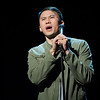 Buffalo State alumnus, Thom Tran and the GIs of Comedy tour at Rockwell Hall.