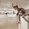 Student work in Fine Arts Student Show in Czurles-Nelson Gallery.