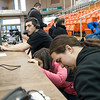 Live broadcast of men's and women's basketball games by Television Communication students.