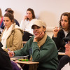 Dr. Robert Delprino's psychology class at Buffalo State.