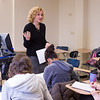 Dr. Pamela Schuetze-Pizzaro's psychology class at Buffalo State.