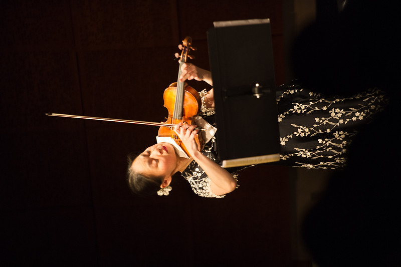 Music fundraising dinner and concert featuring Midori in the Ciminelli Recital Hall at Buffalo State.