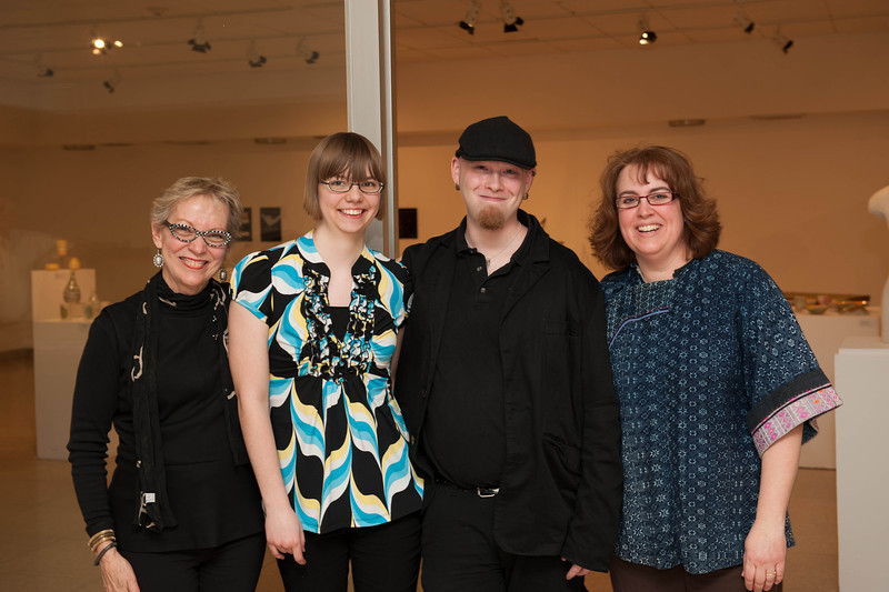 Design Student Show in Czurles-Nelson Gallery in Upton Hall.