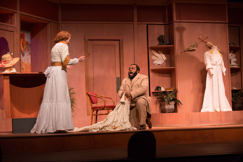 """Student Theater production of """"Ladies Man"""" at Buffalo State."""