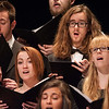 Buffalo State Chamber Choir performing at the Honors Convocation.
