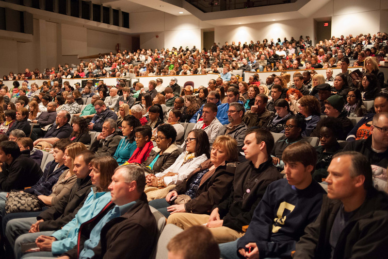 Buffalo State Open House for prospective students.