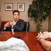 Olympian Apolo Ohno meeting with Buffalo State students and speaking at Rockwell Hall.