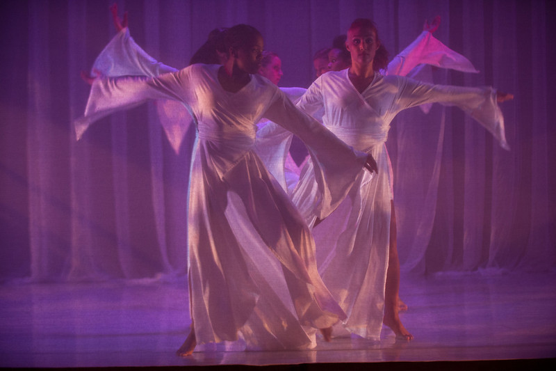 "Buffalo State dance theater dance concert, ""Recapitulation."""
