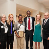 Student Leadership Awards ceremony in Burchfield-Penney Art Center.