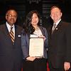 Student Leadership Awards ceremony in Burchfield-Penney Art Center.