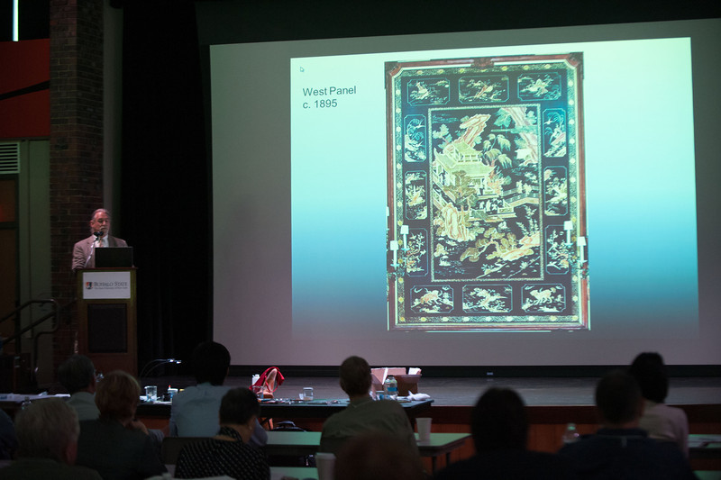 Asian Lacquer Symposium at Buffalo State.