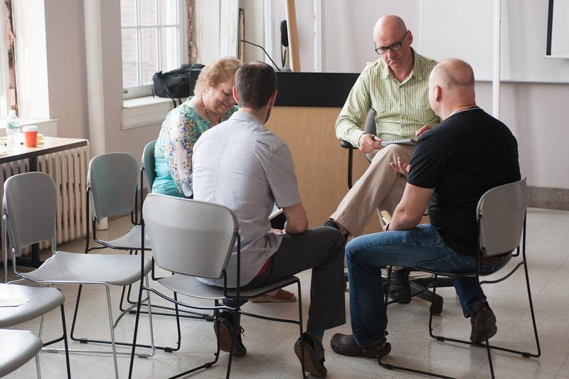 Creative Studies workshop at Buffalo State.