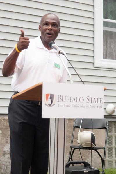 Buffalo State community meet and greet.