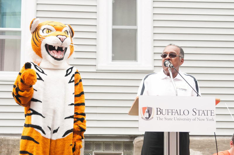 Buffalo State community meet and greet.