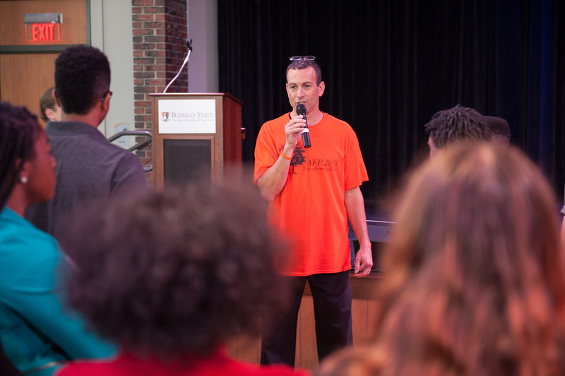 Anne Frank Project Youth Conference at Buffalo State.