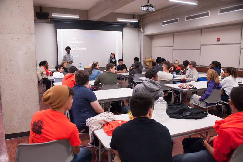 Day three of the Anne Frank Project at SUNY Buffalo State.