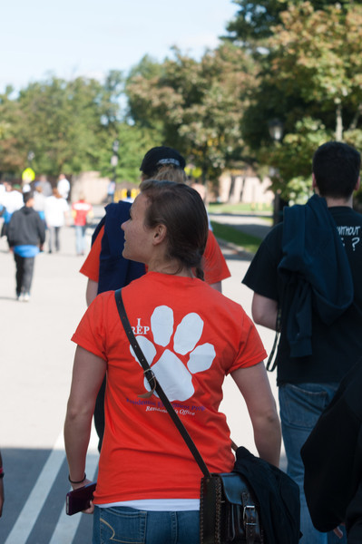 Buffalo State Walks for suicide prevention (Out of the Darkness Community Walks)