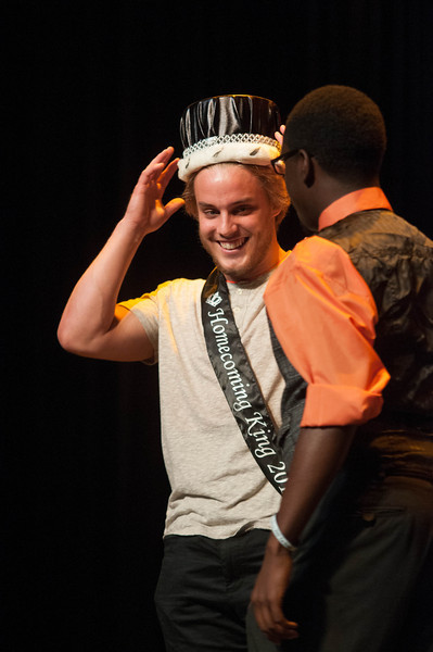 The Homecoming king and queen competition.