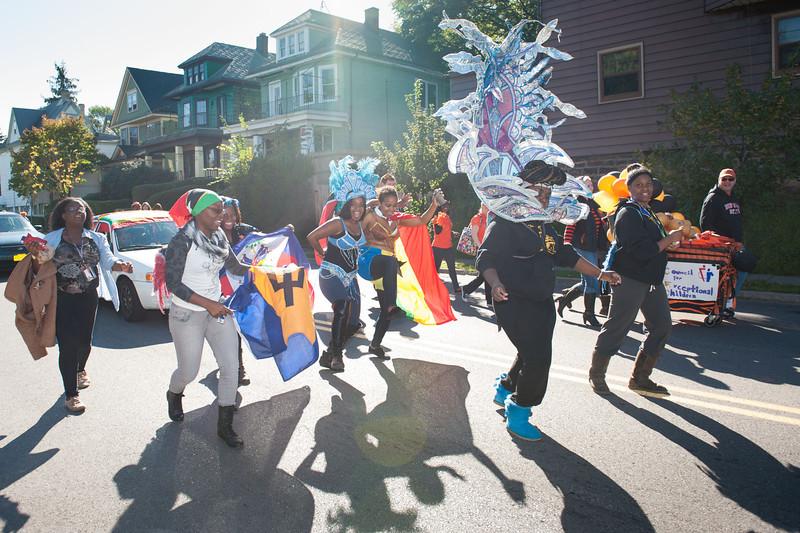 Buffalo State Homecoming Parade.