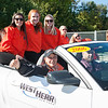President Howard Cohen in Buffalo State Homecoming Parade.