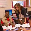 SUNY Buffalo State English Education student teachers at Lafayette High School in Buffalo, NY.