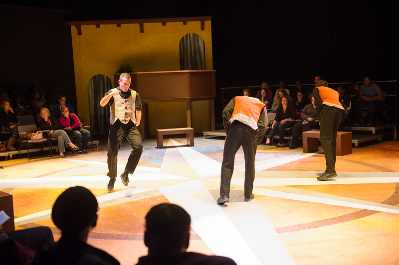 Student Theater production of Romeo and Juliet at SUNY Buffalo State.