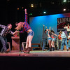 "Student theater production of the musical ""Footloose"" at SUNY Buffalo State."