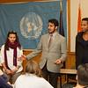 International student end of year celebration at SUNY Buffalo State.