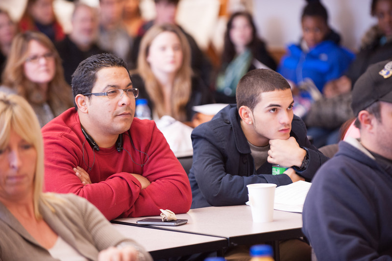 SUNY Buffalo State Admissions Office Class Visits Program.