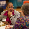 Faculty/employer luncheon during the Career Development Center Job Fair at SUNY Buffalo State.