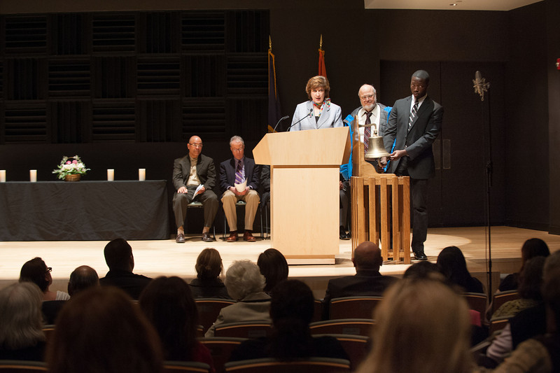 """Celebration of Life"" memorial service in Burchfield-Penney Art Center at SUNY Buffalo State."